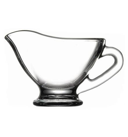 Соусница стеклянная с носиком для мёда  Pasabahce Basic 60 мл (55002/sl)