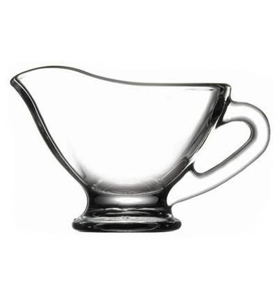 Соусница стеклянная с носиком для мёда  Pasabahce Basic 60 мл (55002/sl), фото 2