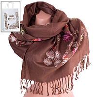 Шарф ETERNO Женский шерстяной шарф 166 на 63 см ETERNO (ЭТЕРНО) ES0206-7-brown