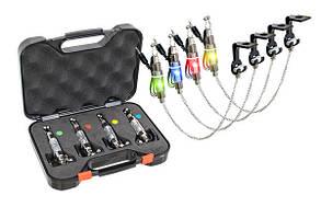 Набор 4 свингера на цепочке Energofish Carp Expert CXP LED Chain Swinger Set с подключением (7709090