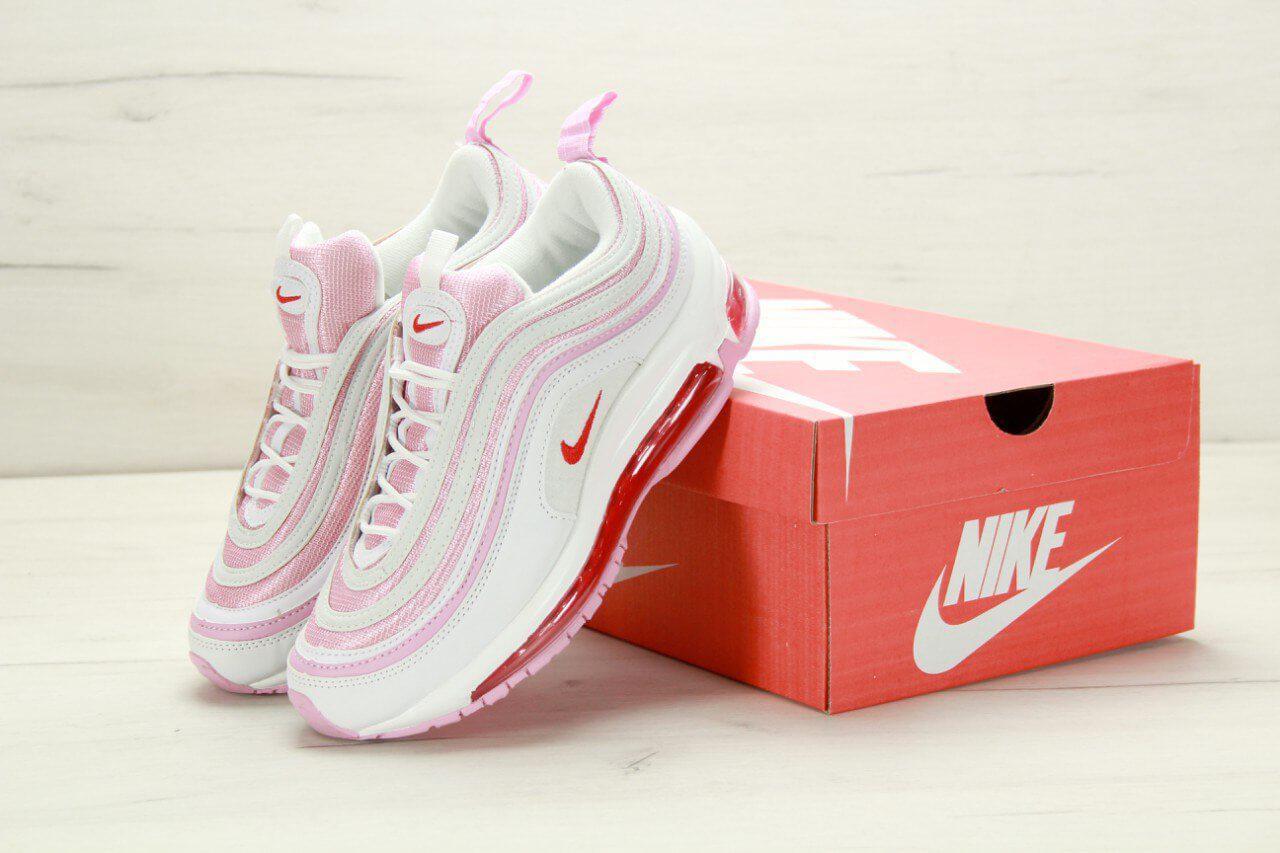 c82d8f837df6 Кроссовки Nike Air Max 97 White Red Flame Pink купить в Киеве   Im ...