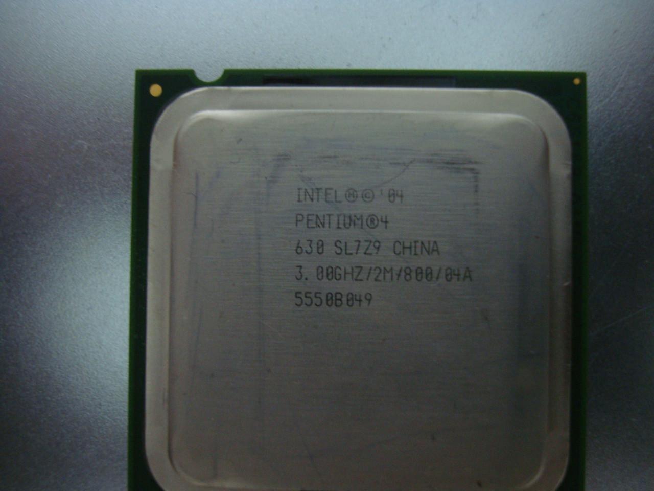 Процессор Intel Pentium 4 630 (631) s775 3,00 GHz