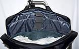 Портфель, сумка для ноутбука синяя с металлическими ручками 36*28 см, фото 3