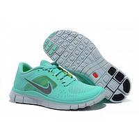 Кроссовки женские Nike Free Run Plus 3 Бирюзовые