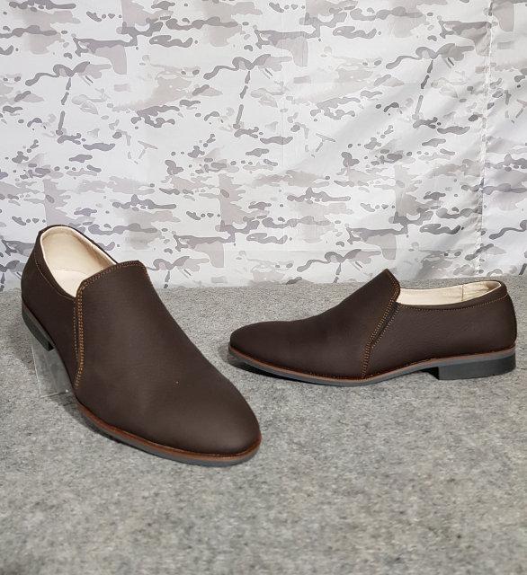 Туфли мужские кожаные коричневые 42 размер
