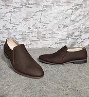 Туфли мужские кожаные коричневые 42 размер, фото 1
