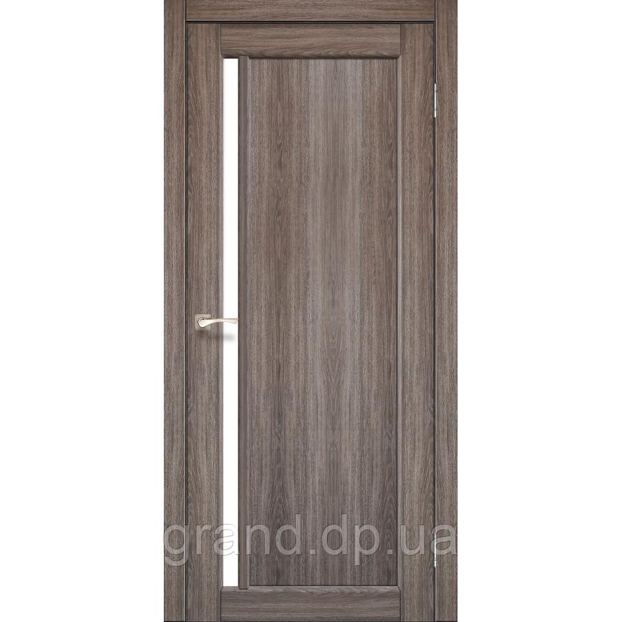 Двери межкомнатные  Корфад ORISTANO Модель: OR - 06 дуб грей c матовым стеклом