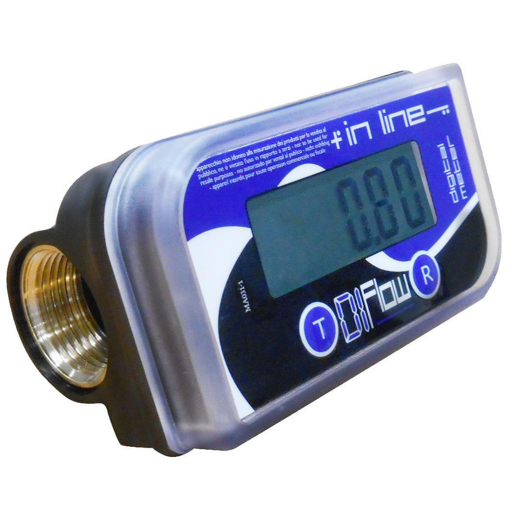 IN LINE - цифровий лічильник обліку палива, сечовини, води, Adam Pumps (Італія)