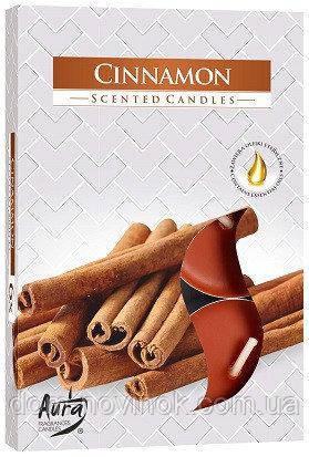Свечи ароматизированные корица чайные таблетки .