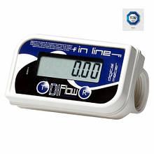 IN LINE - цифровий лічильник обліку (ХАРЧОВОЇ) Adam Pumps (Італія)