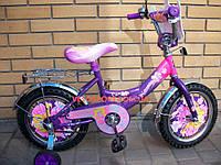 Детский велосипед Mustang Принцесса 14 дюймов
