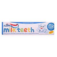 Зубная паста Aquafresh детская Milk Teeth ( 0-2г), 50 мл