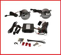 Комплект светодиодных противотуманный фар плюс дневные ходовые огни Osram (BK 12V/24V FS1)