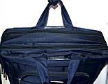 Трансформер, сумка - рюкзак для ноутбука черная 41*30 см, фото 2