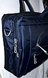 Трансформер, сумка - рюкзак для ноутбука черная 41*30 см, фото 3