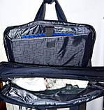 Трансформер, сумка - рюкзак для ноутбука черная 41*30 см, фото 4
