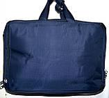 Трансформер, сумка - рюкзак для ноутбука черная 41*30 см, фото 5