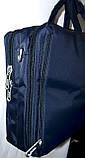 Трансформер, сумка - рюкзак для ноутбука черная 41*30 см, фото 6