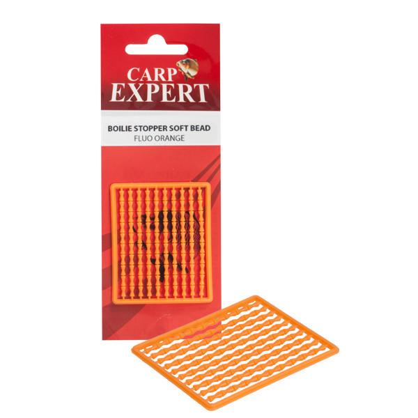 Стопор Carp Expert Soft Boilie Stopper косточка Fluo оранжевый