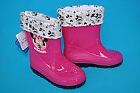 Детские резиновые сапоги для девочек Шалунишка (размер 26-30)