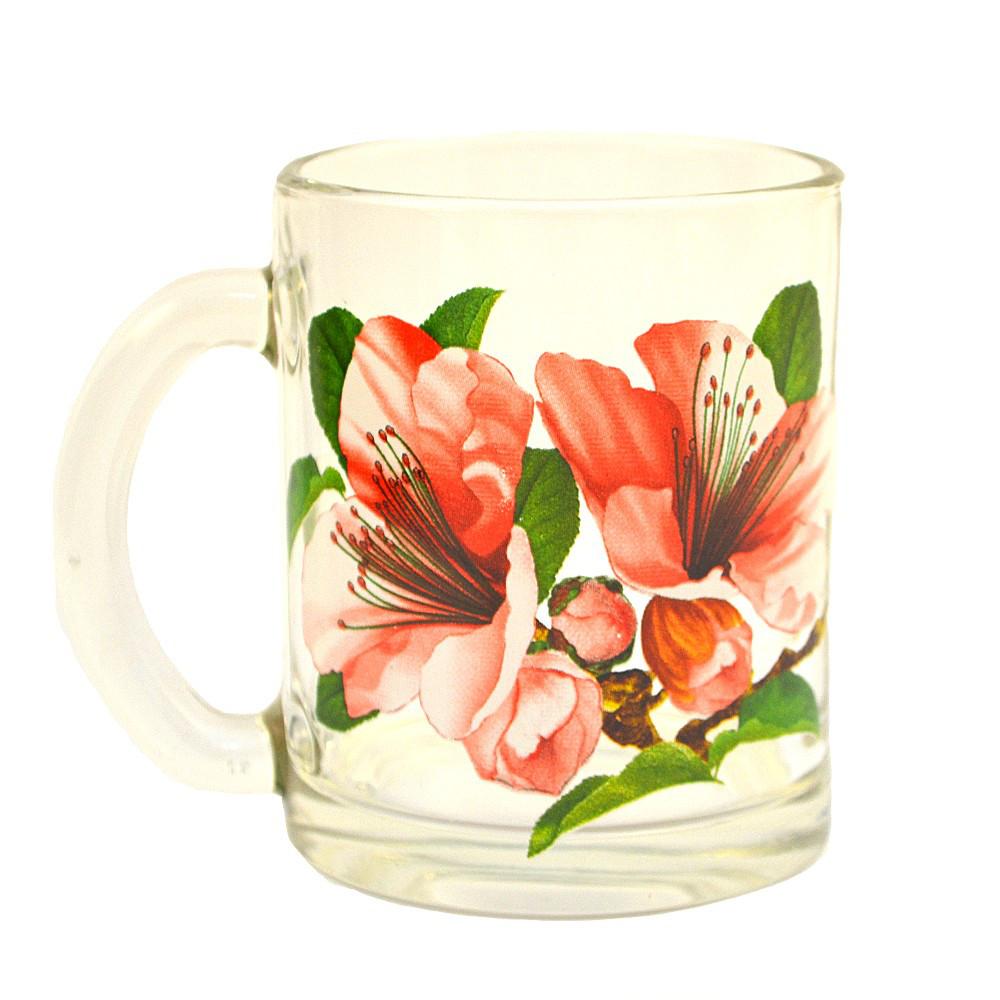 """Кружка чайная  """"Цветы"""" 320мл."""