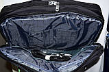Трансформер, сумка - рюкзак для ноутбука синий цвет 41*30 см, фото 3