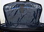 Трансформер, сумка - рюкзак для ноутбука синий цвет 41*30 см, фото 5