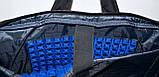 Трансформер, сумка - рюкзак для ноутбука синий цвет 41*30 см, фото 6