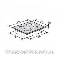 Электрическая варочная поверхность Ventolux VB 68 TC, фото 3