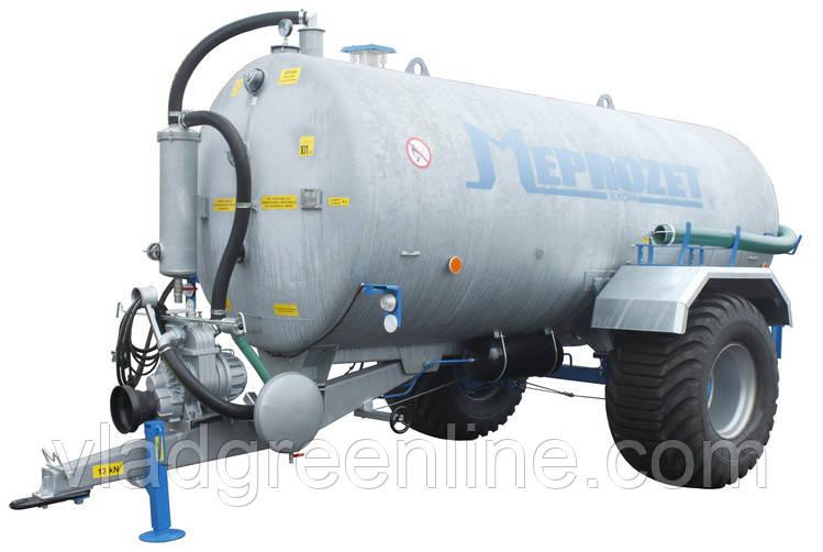 Ассенизационная машина Meprozet PN-70/1 (8695 л, оцинкованная)