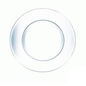 "Тарелка обеденная стеклянная ОСЗ ""Симпатия"" 250мм 16с1886"