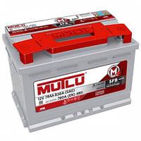 Аккумулятор автомобильный Mutlu Silver 78 AH L+ 780A (LB3.78.078.A)