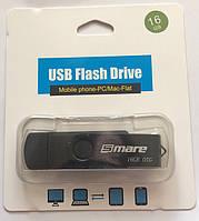 Флешка 16 гб USB, micro USB Flash drive Smare
