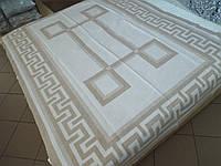 Одеяло жаккардовое Греция беж, фото 1