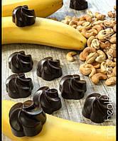 Конфеты из кэроба с бананом и кешью