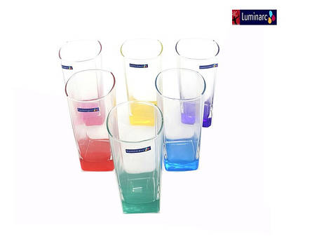 Набор стаканов Luminarc Sterling Rainbow 330 мл 6 шт N0779, фото 2