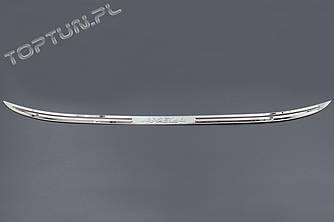 Хром накладка на крышку багажника Mazda 3 BM