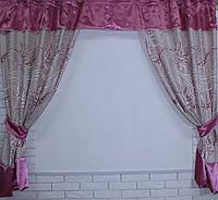 Комплект плотных штор е343, 1.7м*2.75м