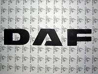Эмблема DAF  буквы (34мм) под покраску