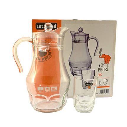 Набор для напитков Arcopal Roc из 7 предметов (L4987) , фото 2
