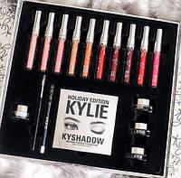 Подарочный набор для макияжа Kylie Kylie Holiday Edition Big Box (набор косметики Кайли)