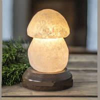 Грибочек малый соляная лампа со светорегулятором
