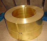 Бронзовая лента БрКМц3-1 БрБ2 БрОФ6,5-0,15 Толщина 0,1мм-2мм Отмотка