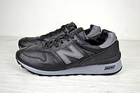 Мужские кожаные кроссовки New Balance 1300 black топ реплика