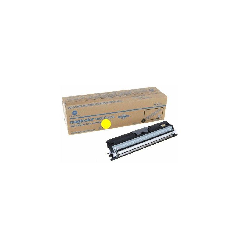 Тонер-картридж Konica Minolta MC1600/1680/1690 Black  magicolor 1600/1680