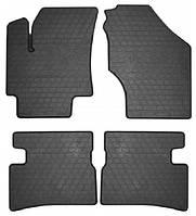 Резиновые коврики для Hyundai Accent III (MC) 2006-2010 (STINGRAY)