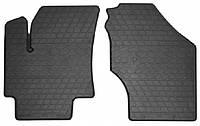 Резиновые передние коврики для Hyundai Accent III (MC) 2006-2010 (STINGRAY)