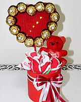Композиції з цукерок до Дня Валентина!
