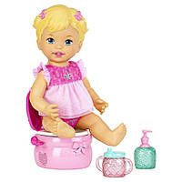 Набор кукла и горшок Little Mommy Fisher-Price