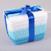 Комплект полотенец из 3 шт 40х60 см Lefard Синий, 825-009